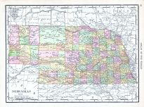 Nebraska, World Atlas 1913